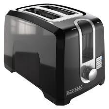 BLACK+DECKER 2-Slice Extra-Wide Slot Toaster, Square