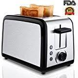 Trobox 2 Slice Toaster with Warming Rack