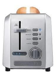 Chefman Stainless Steel 2-Slice Wide Slot Toaster